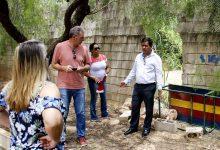 Foto de Roselei leva apoio a escolas municipais do Faga e Aracy