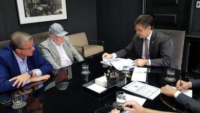 Foto de Airton Garcia se reúne com vice-governador Rodrigo Garcia e secretário de Desenvolvimento Regional