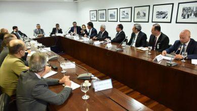 Foto de Ministros se reúnem para discutir ações de combate ao novo coronavírus