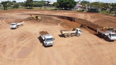 Foto de Obras do piscinão da CDHU seguem em ritmo acelerado