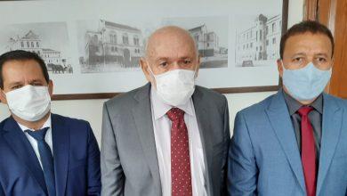 Foto de Presidente da Câmara Roselei Françoso recebe visita de Airton e Edson Ferraz
